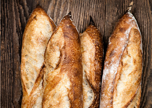 Norse Business Catering services in Norfolk and Suffolk homemade bread image